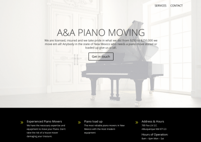 A & A Piano Moving