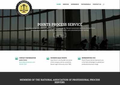 Points Process Server