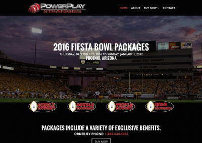 Power Play Strategies – Fiesta Bowl – Payment Gateway