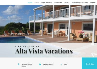 Alta Vista Vacations