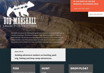 Bob Marshall Legacy Outfitters