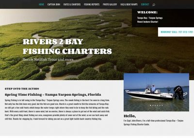 Fishing Charters Template