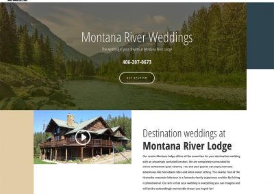 Montana River Weddings