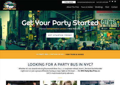 NYC Party Bus