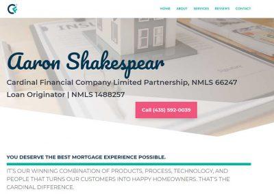 Aaron Shakespear – Cardinal Financial Company