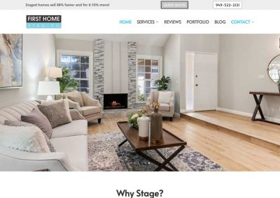 First Home Staging