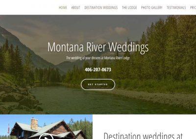 Montana River Weddings