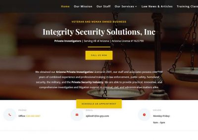 Integrity Security Solutions, Inc