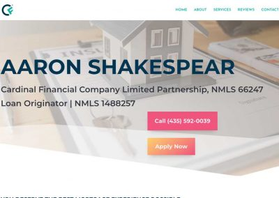 Aaron Shakespear – Cardinal Financial