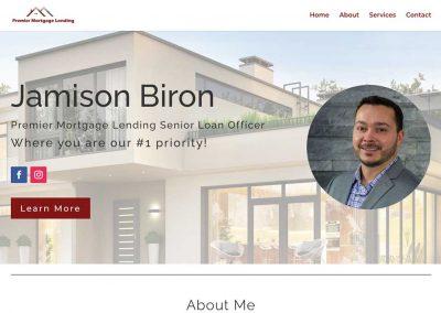 Jamison Biron – Mortgage Lending