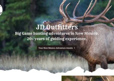 JD Outfitters – Hunting Website